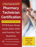Pharmacy Technician Certification Study Guide 2020 and 2021