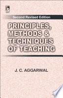 Principles  Methods   Techniques Of Teac