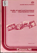 Census 86  Profile of Legal Local Government Areas  Usual Residents Counts  Tasmania