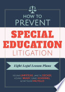 How to Prevent Special Education Litigation