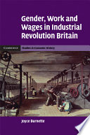 Gender Work And Wages In Industrial Revolution Britain