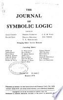 The Journal of Symbolic Logic