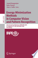 Energy Minimization Methods In Computer Vision And Pattern Recognition Book PDF