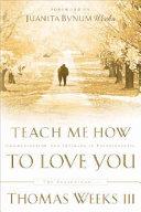 Teach Me how to Love You Book PDF