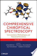 Comprehensive Chiroptical Spectroscopy Book PDF