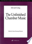 The Unfinished Chamber Music