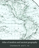 Atlas of modern and ancient geography