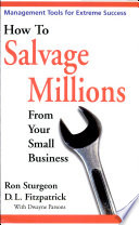 How to Salvage Millions from Your Small Business Book