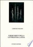 Forme brevi della letteratura latina