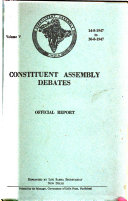 Constituent Assembly Debates