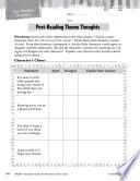The Adventures of Tom Sawyer Post Reading Activities