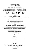Historie ancienne de L'Égypte. Tome II