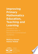 Improving Primary Mathematics Education  Teaching and Learning Book
