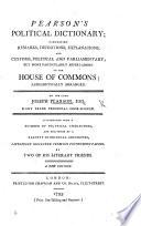 Pearson's Political Dictionary ... A new edition