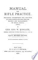 Manual for Rifle Practice