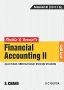 Financial Accounting II CBCS CU
