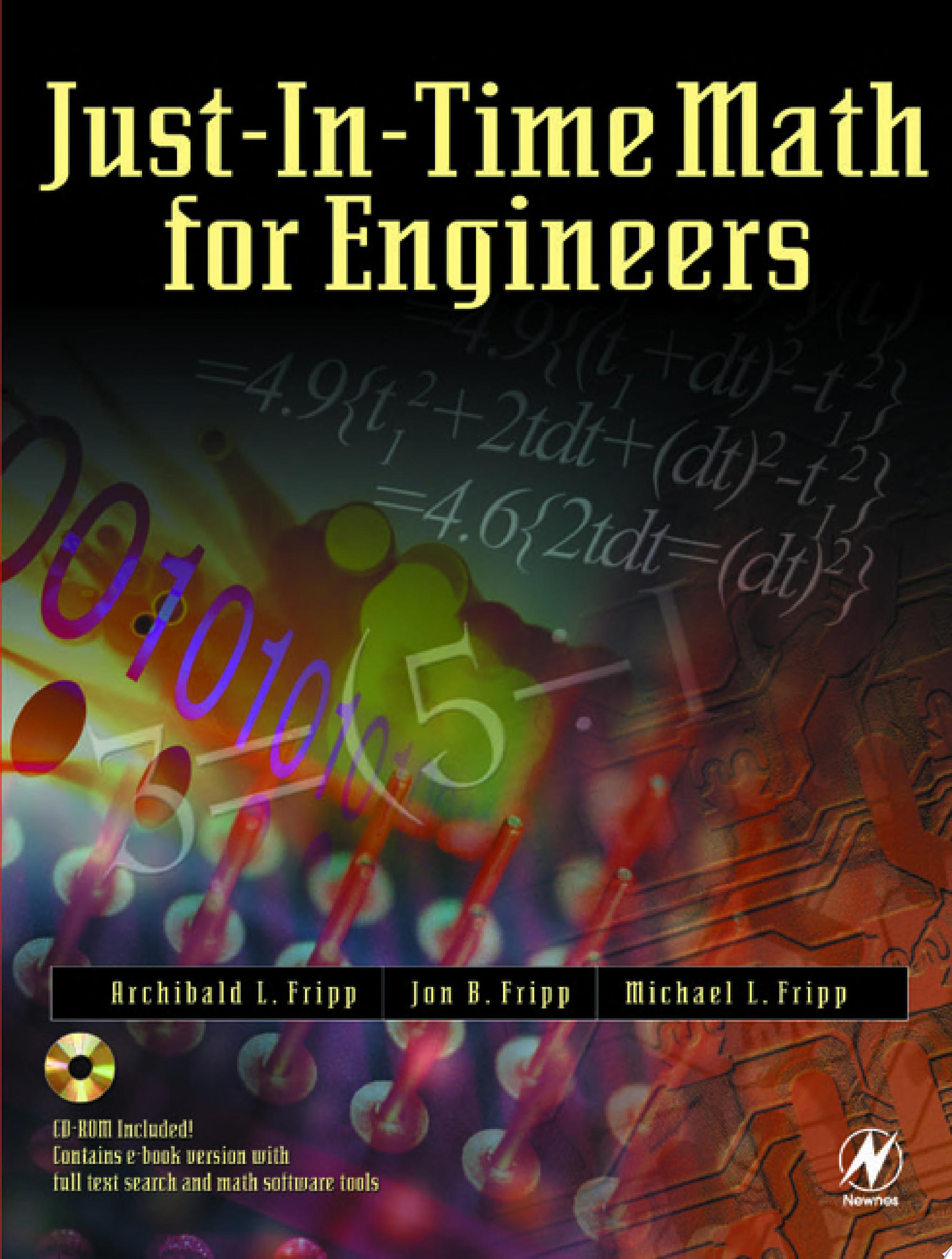 Just In Time Math for Engineers
