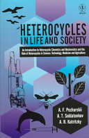 Heterocycles in Life and Society Book