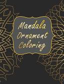 Mandala Ornament Coloring