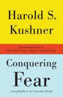 Conquering Fear Book