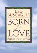 Born For Love Book
