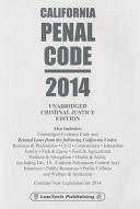 Penal Code   California 2014