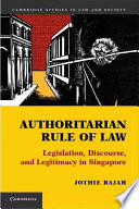 Authoritarian Rule of Law.pdf