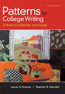 Patterns for College Writing  High School Edition