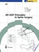 AO ASIF Principles in Spine Surgery Book