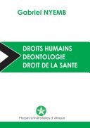 Droits humains, Déontologie, Droit de la santé