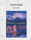 Study Guide for Mcknight s Physical Geography