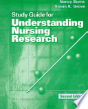Study Guide for Understanding Nursing Research