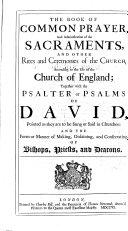 Pdf The book of common Prayer