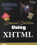 Special Edition Using XHTML