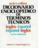Diccionario Enciclopédico de Términos Técnicos, Inglés-español, Español-inglés