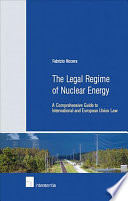 The Legal Regime of Nuclear Energy