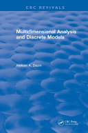 Multidimensional Analysis and Discrete Models