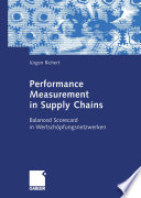 Performance Measurement in Supply Chains