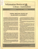 Information Retrieval Library Automation