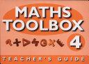 Maths Toolbox: Year 4 - Teachers Notes