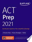 ACT Prep 2021 Book