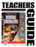 The Mystery of the Missing Dinosaurs Teacher's Guide Book