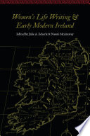 Women S Life Writing And Early Modern Ireland