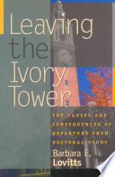 Leaving the Ivory Tower