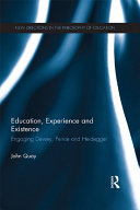 Education, Experience and Existence [Pdf/ePub] eBook