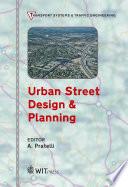 Urban Street Design & Planning
