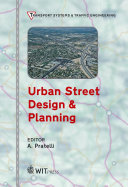 Urban Street Design   Planning