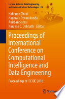 Proceedings of International Conference on Computational Intelligence and Data Engineering