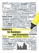 Cover of Statistics for Business and Economics