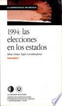 1994 Las Elecciones En Los Estados